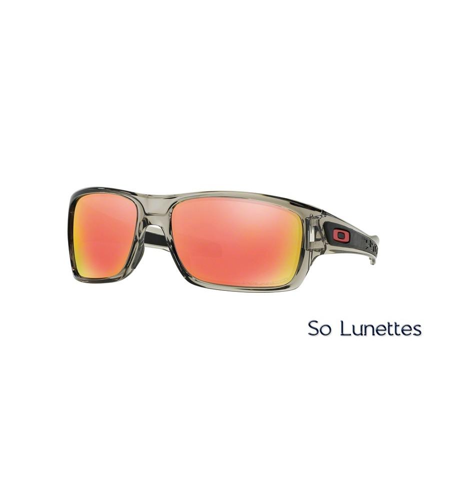 Lunettes de soleil Oakley Homme TURBINE OO9263 926310 monture Grise ... 147dda756a6e