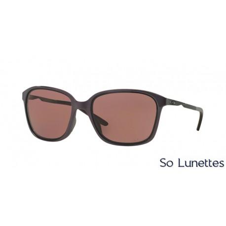 lunettes de soleil oakley femme game changer oo9291 929106 monture rouge verres marron polaris. Black Bedroom Furniture Sets. Home Design Ideas
