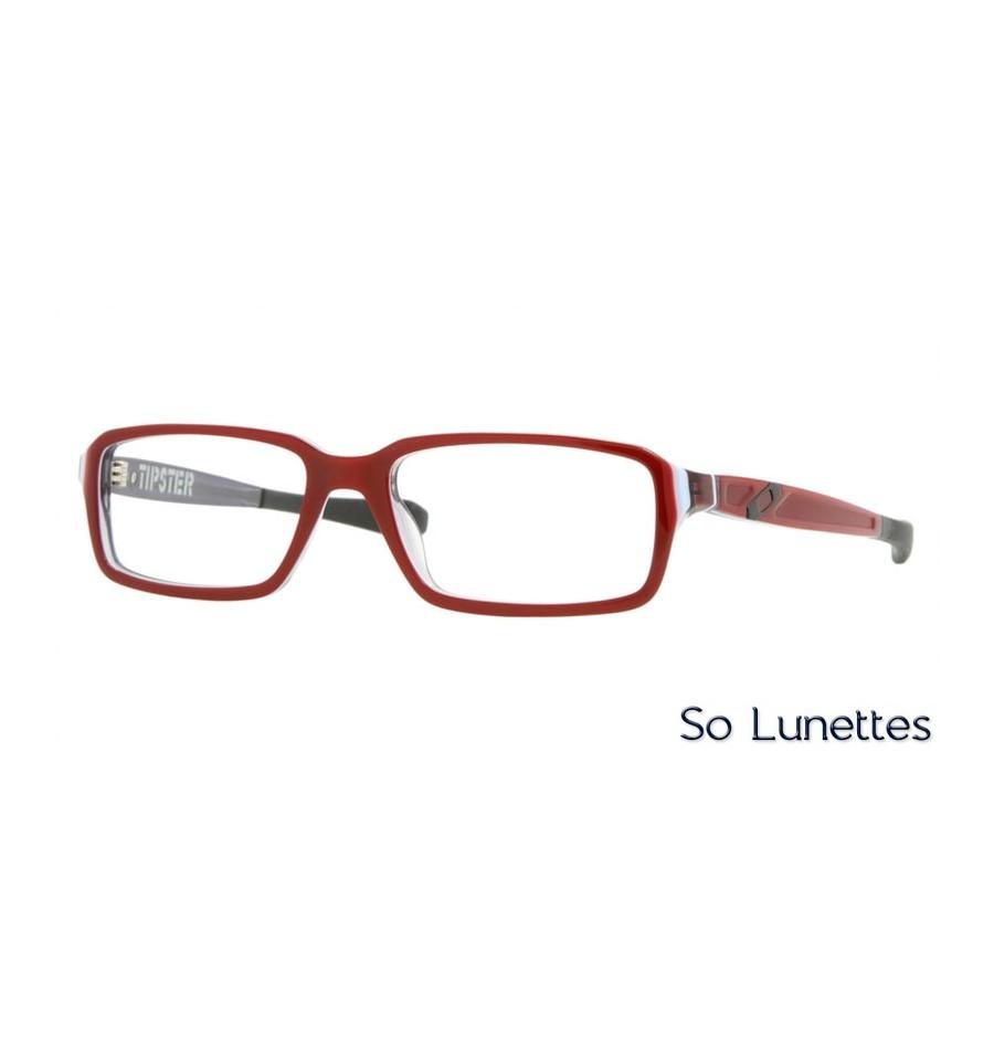 Lunettes de vue Oakley Homme TIPSTER OX1039 103905 monture Bordeaux 1e18bcf89cb0