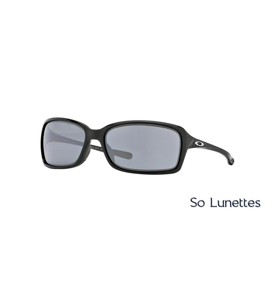 Lunettes de soleil Oakley Femme DISPUTE OO9233 923302 monture Noire ... 62d507f8ba68