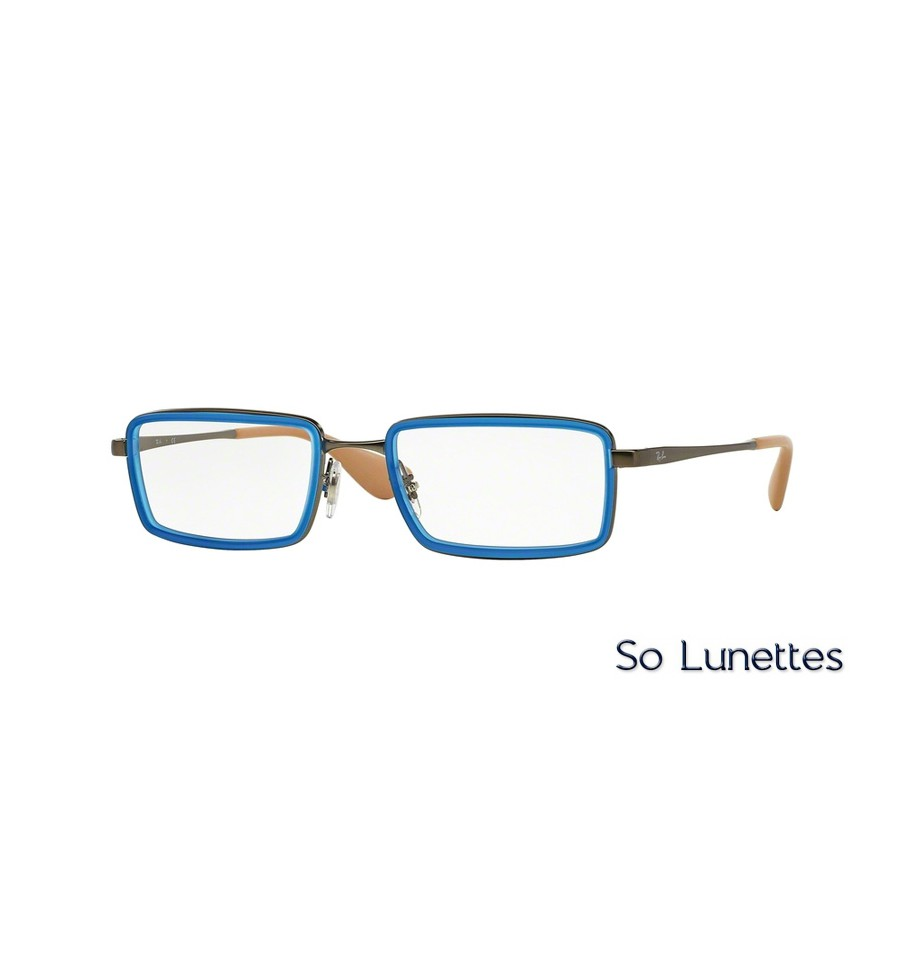lunettes de vue ray ban homme rx6337 2620 monture bleue. Black Bedroom Furniture Sets. Home Design Ideas