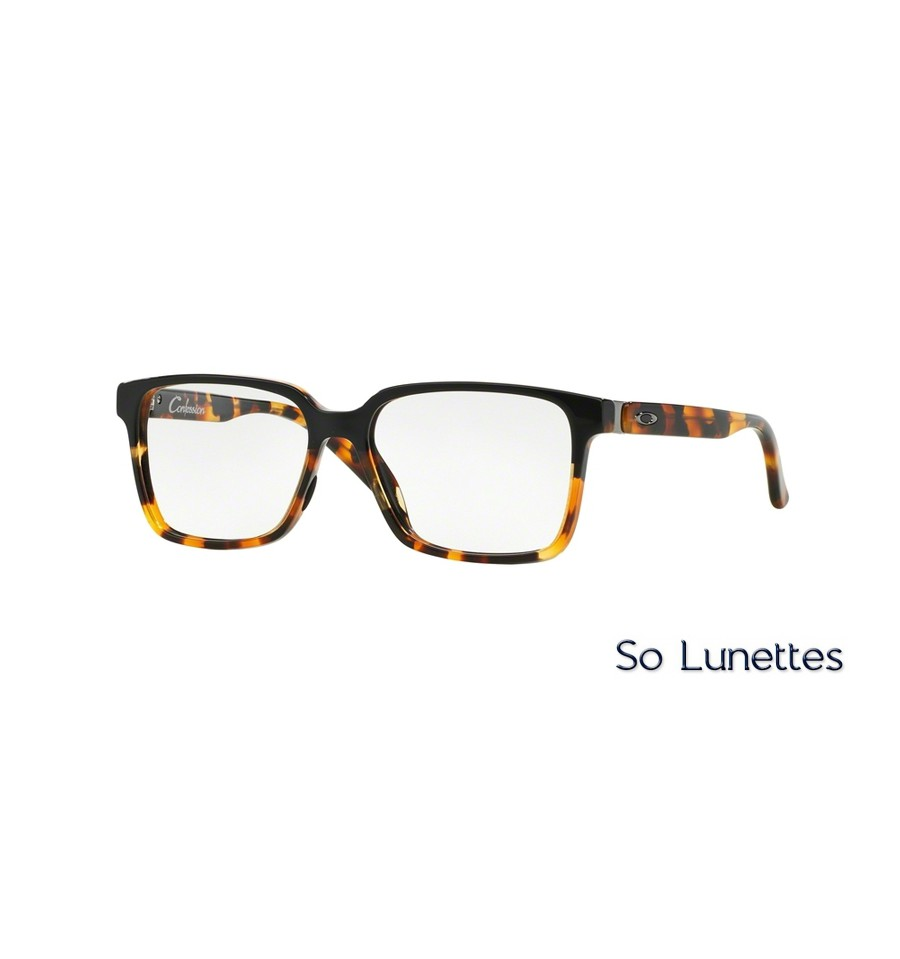 lunettes de vue oakley homme crosslink ox8030 803001 noire. Black Bedroom Furniture Sets. Home Design Ideas