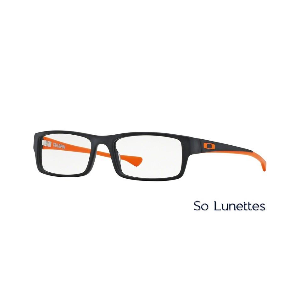 lunettes de vue oakley homme tincup 0 5 titanium ox5099 509901 noire so lunettes