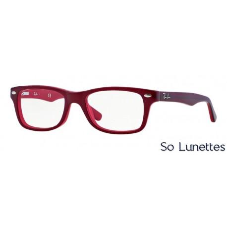 lunettes de vue ray ban ry1531 3592 monture rouge. Black Bedroom Furniture Sets. Home Design Ideas