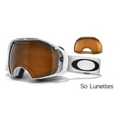 masque de ski oakley airbrake pas cher  masque de ski oakley airbrake polished white oo7037 57 459