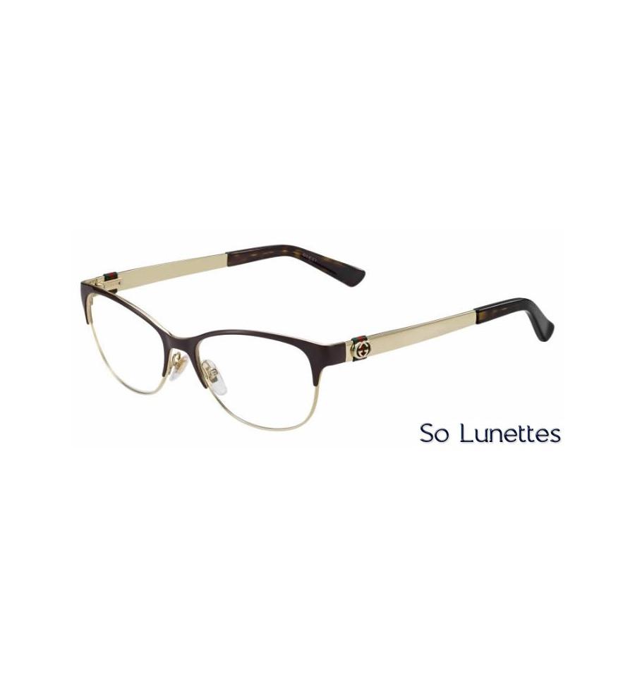 gucci gg 4281 lvmbrowngold so lunettes. Black Bedroom Furniture Sets. Home Design Ideas