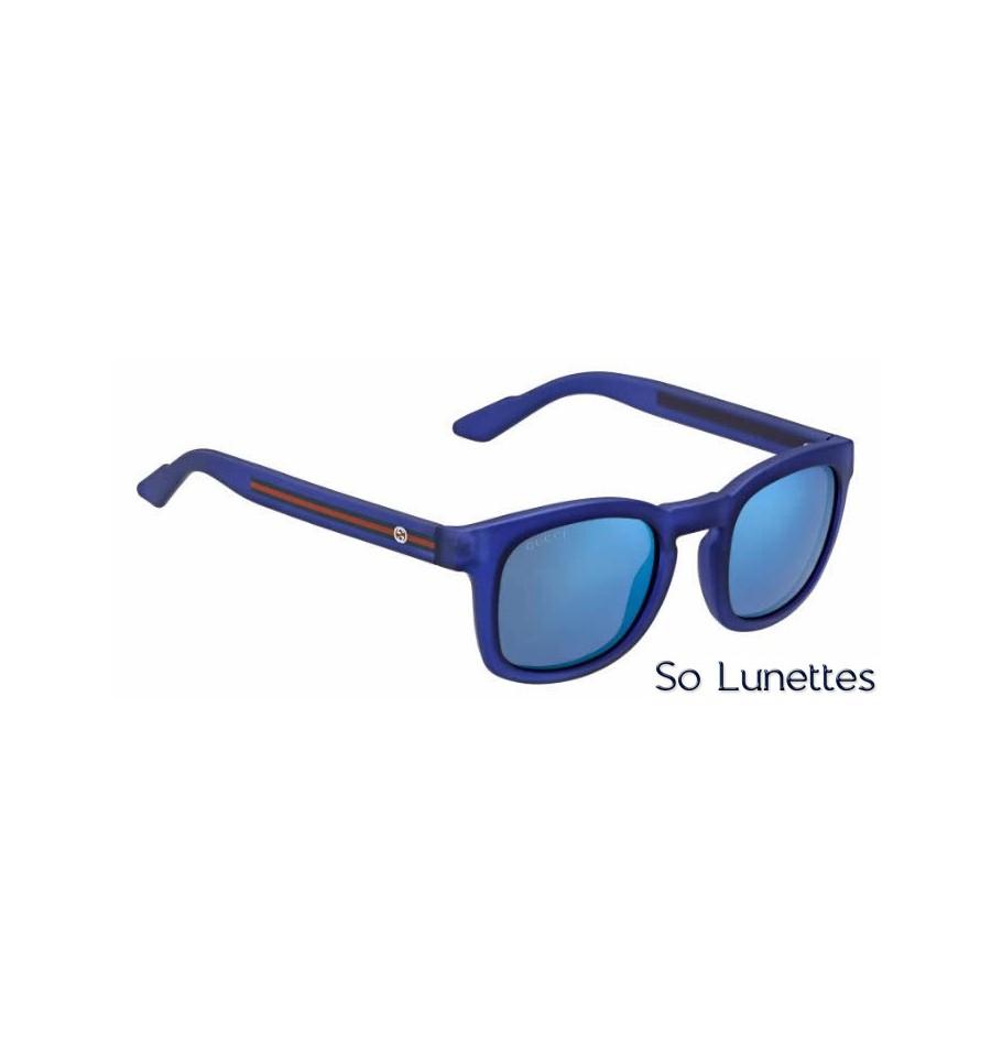 Lunette de soleil Gucci Gg 1113 S M7D (XT) BLUETTE 774169f1a64f