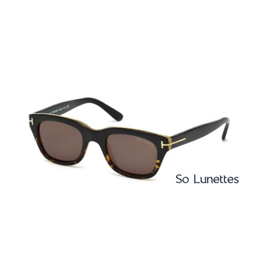 tom ford snowdon ft0237 05j noir roviex so lunettes. Black Bedroom Furniture Sets. Home Design Ideas