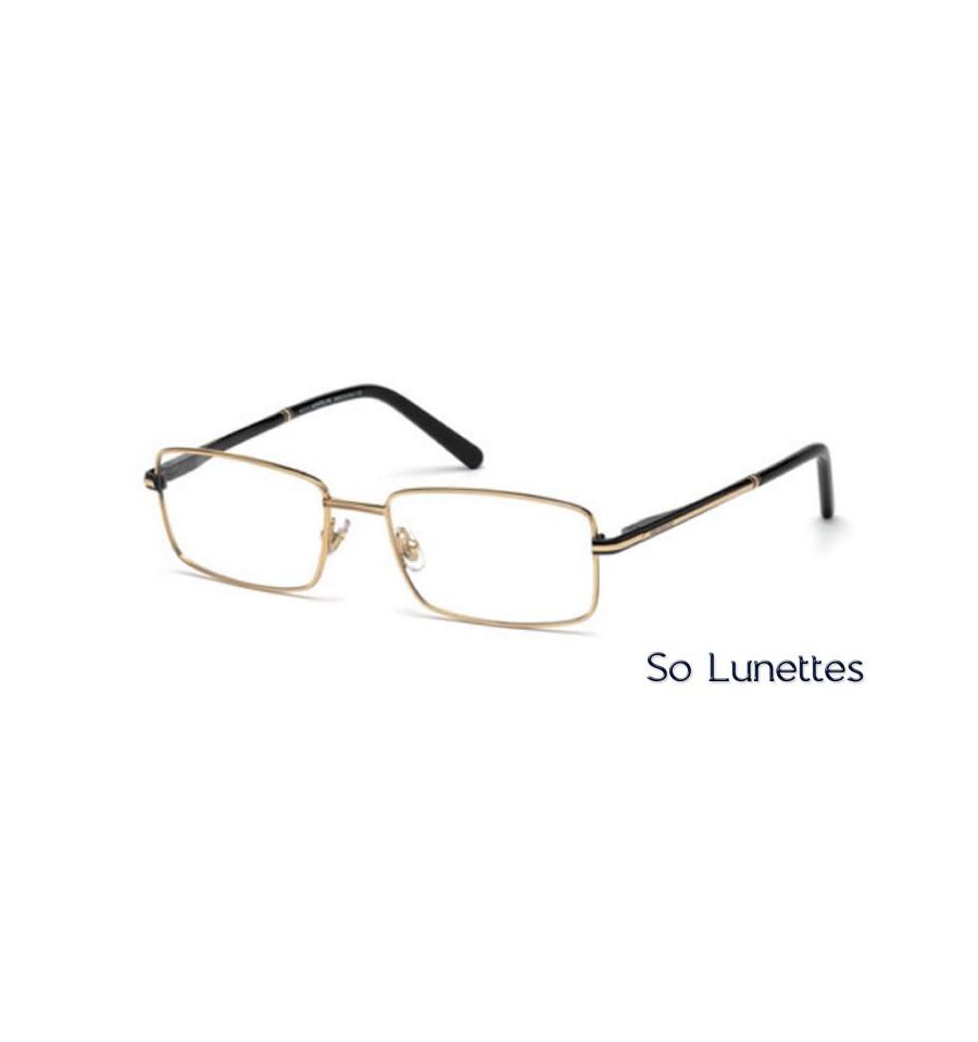 montblanc mb0578 001 noir brillant so lunettes