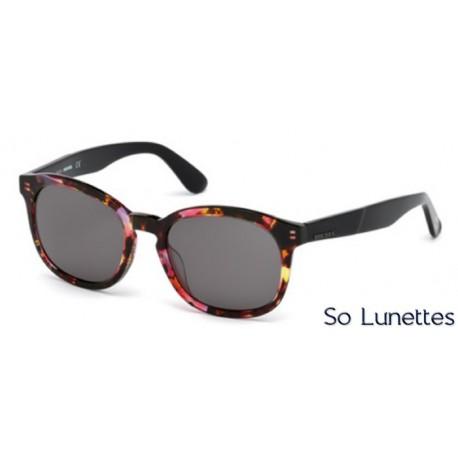 diesel dl0190 54a tortoise rouge gris so lunettes. Black Bedroom Furniture Sets. Home Design Ideas