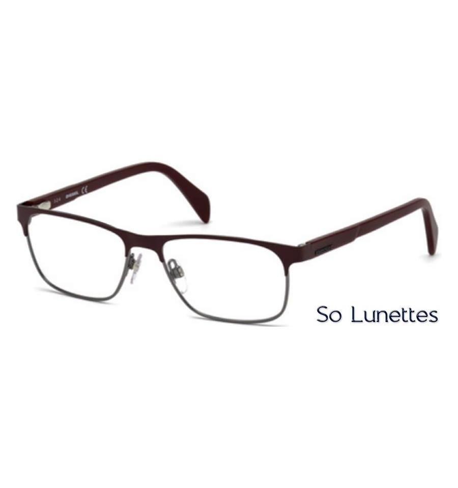 diesel dl5171 068 rouge so lunettes. Black Bedroom Furniture Sets. Home Design Ideas
