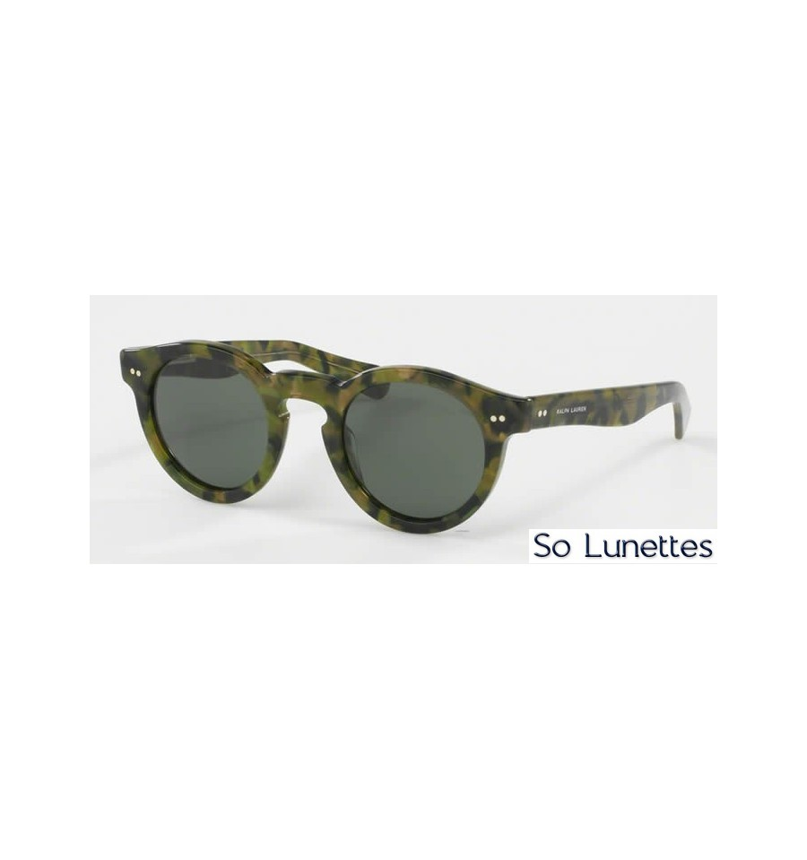 lunette de soleil ralph lauren femme 0rl8071w 543652 monture multi verres gris vert. Black Bedroom Furniture Sets. Home Design Ideas