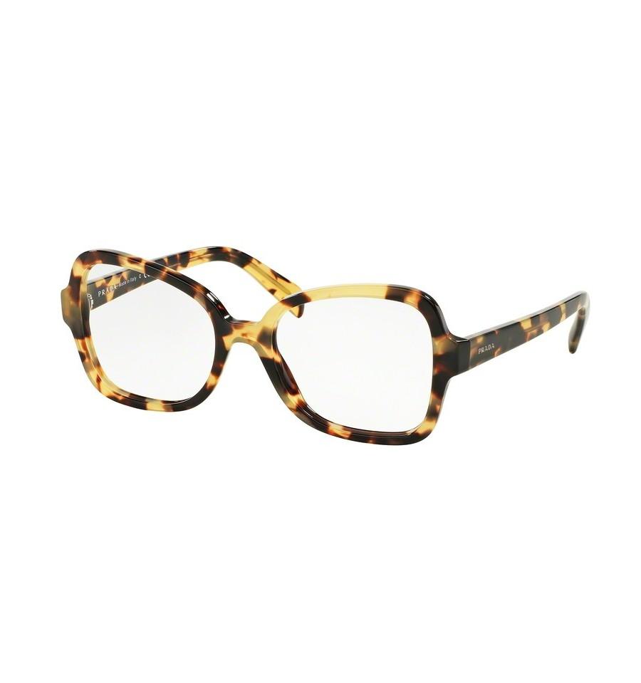 lunettes de vue prada femme pr 25sv 7s01o1 monture caille. Black Bedroom Furniture Sets. Home Design Ideas