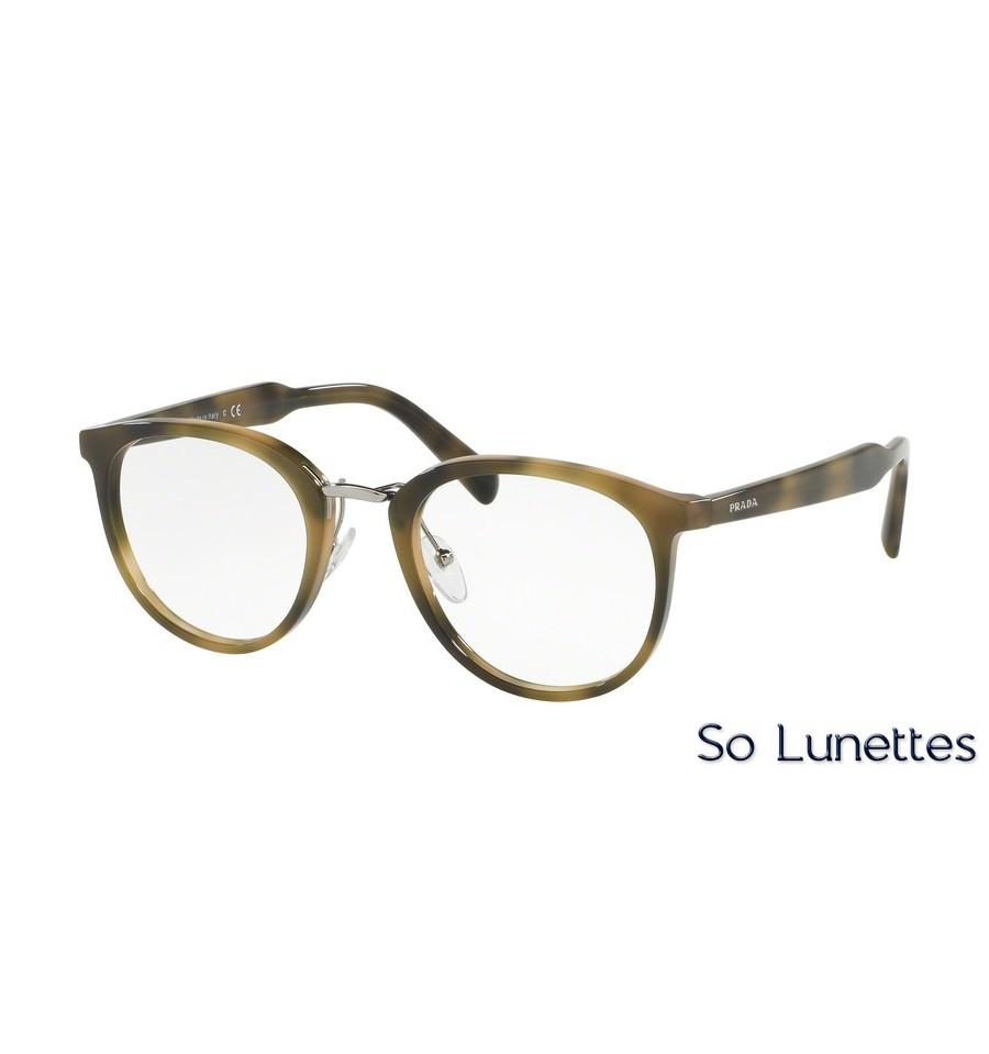 lunettes de vue prada homme pr 03tv u6a1o1 monture vert. Black Bedroom Furniture Sets. Home Design Ideas