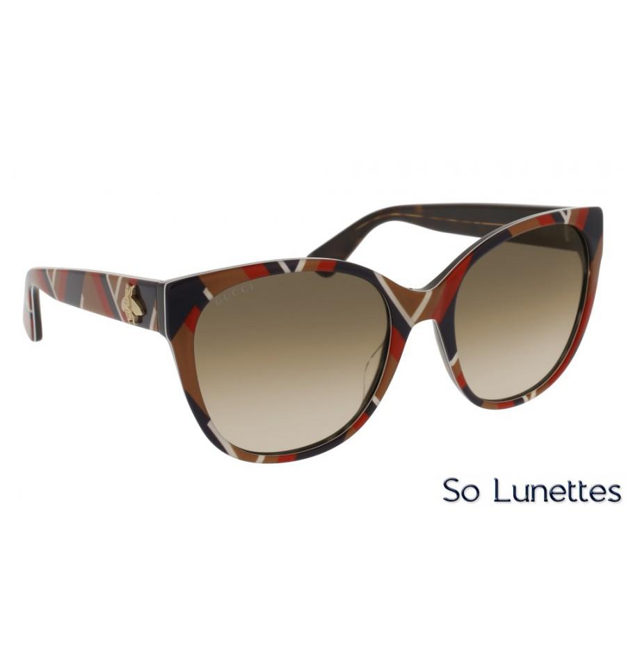 Gucci GG0097S 004 Jaune - So-Lunettes 76dba59fa322