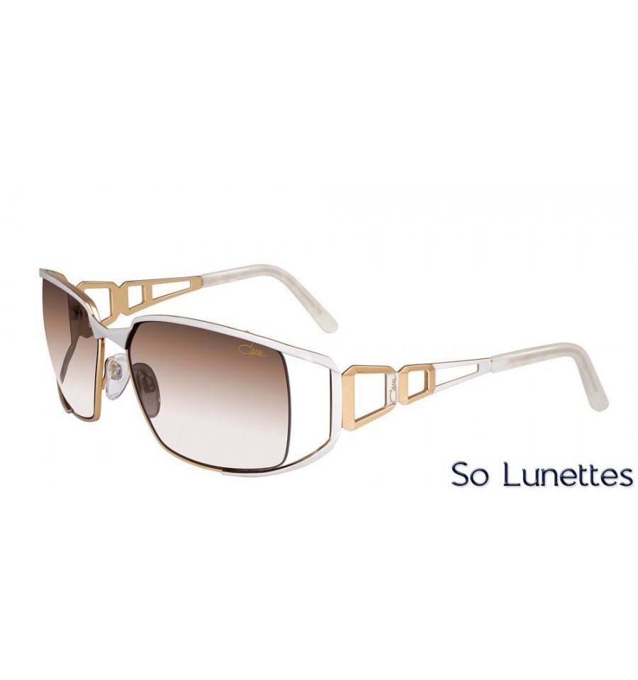 67e35554b6bb6e Cazal 9053 3 003 Blanc Or - So-Lunettes