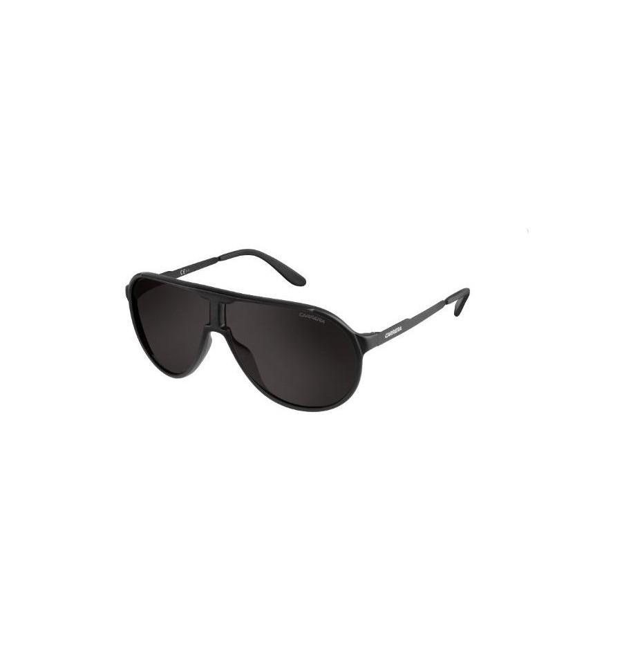 lunettes de soleil carrera homme new champion l guy nr monture noire verres gris marron. Black Bedroom Furniture Sets. Home Design Ideas
