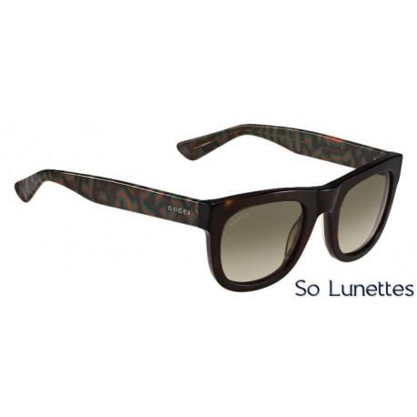 Lunettes de soleil Gucci – GG 1100/S – H30 (HA) – havane foncé