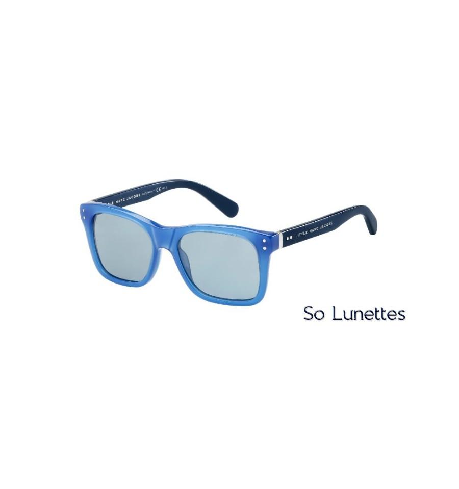 lunettes de soleil marc jacobs mj 612 s c4s p1 pour enfant monture noire avec des verres gris. Black Bedroom Furniture Sets. Home Design Ideas