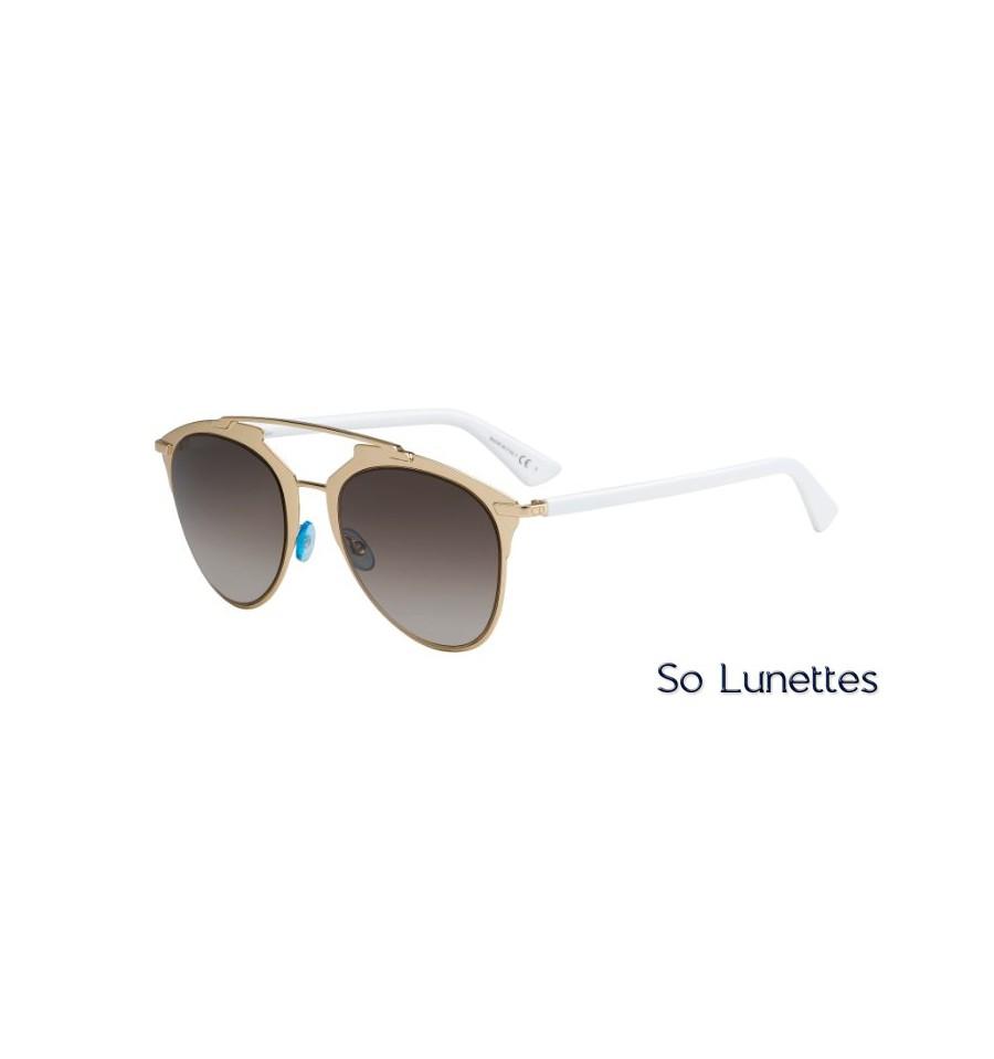 lunettes de soleil dior femme diorreflected 85l dc blanc palladium so lunettes. Black Bedroom Furniture Sets. Home Design Ideas