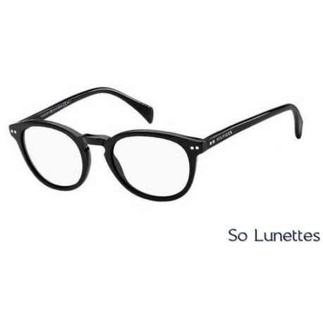 lunettes de soleil tommy hilfiger th 1211 s 807 99 monture noire verres transparent. Black Bedroom Furniture Sets. Home Design Ideas