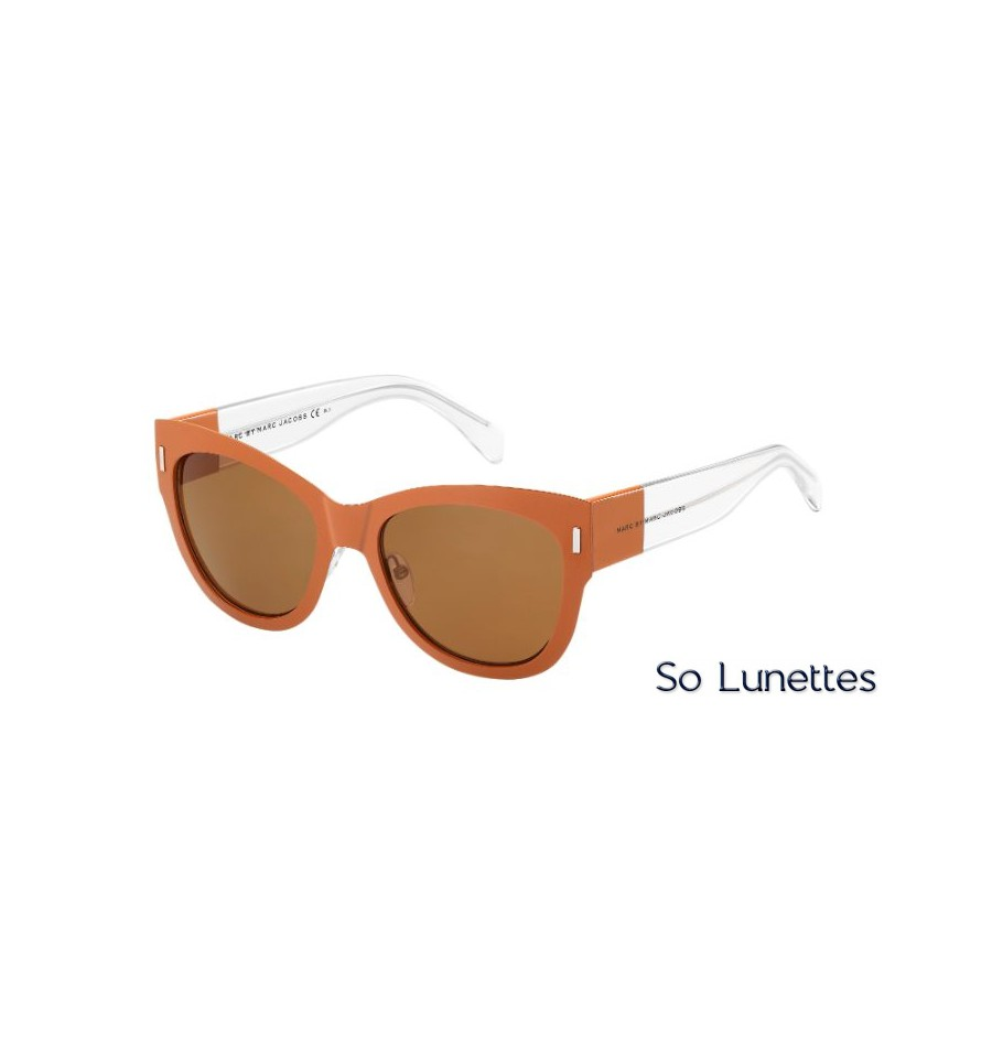 lunettes de soleil marc by marc jacobs femme mmj 467 s b22 8u fuchsia so lunettes. Black Bedroom Furniture Sets. Home Design Ideas