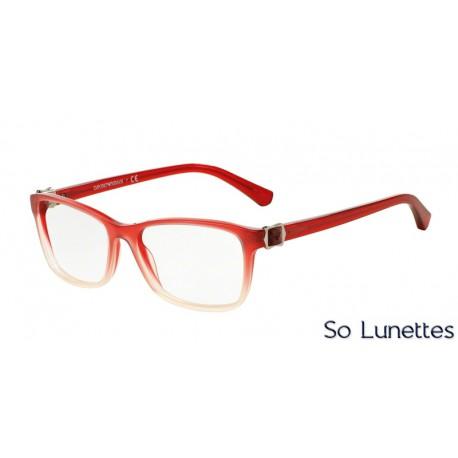 lunettes de vue emporio armani femme ea3076 5461 monture rouge. Black Bedroom Furniture Sets. Home Design Ideas