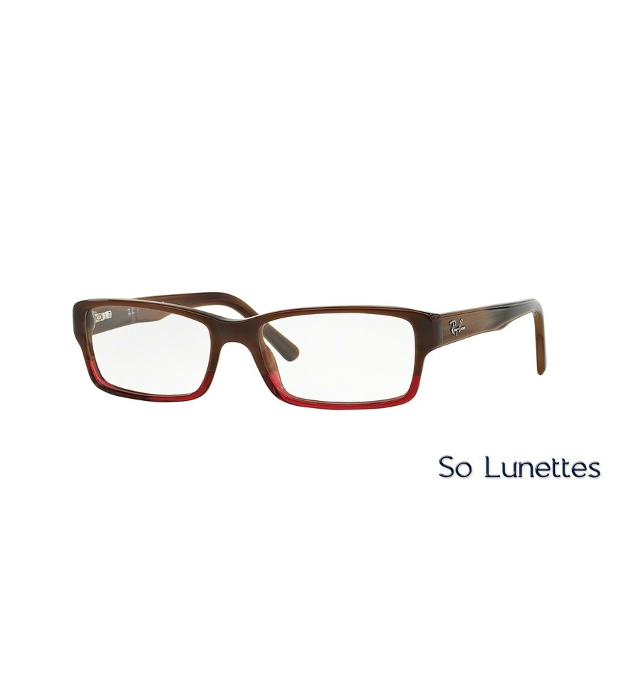 lunettes de vue ray ban homme rx5169 5541 monture marron. Black Bedroom Furniture Sets. Home Design Ideas