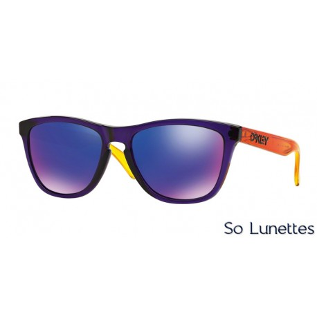 Lunettes de soleil Oakley Homme Frogskins OO9013 901345 Violette