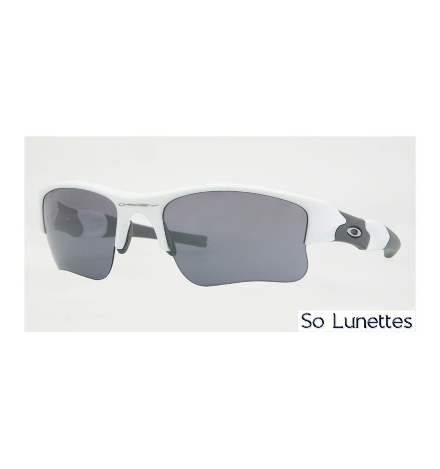 Lunettes de soleil Oakley Homme FLAK JACKET XLJ 63-20 OO9011 03-917 Blanche cd351fcfc1a5