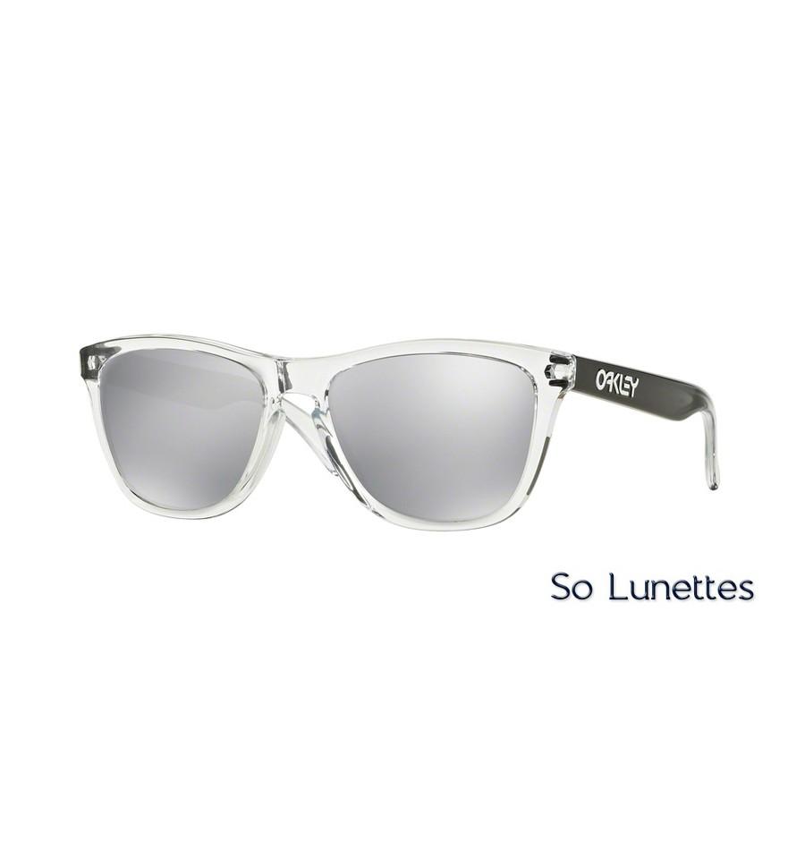2ce32e52b56 Lunettes de soleil Oakley Homme FROGSKINS OO9013 901372 Transparente