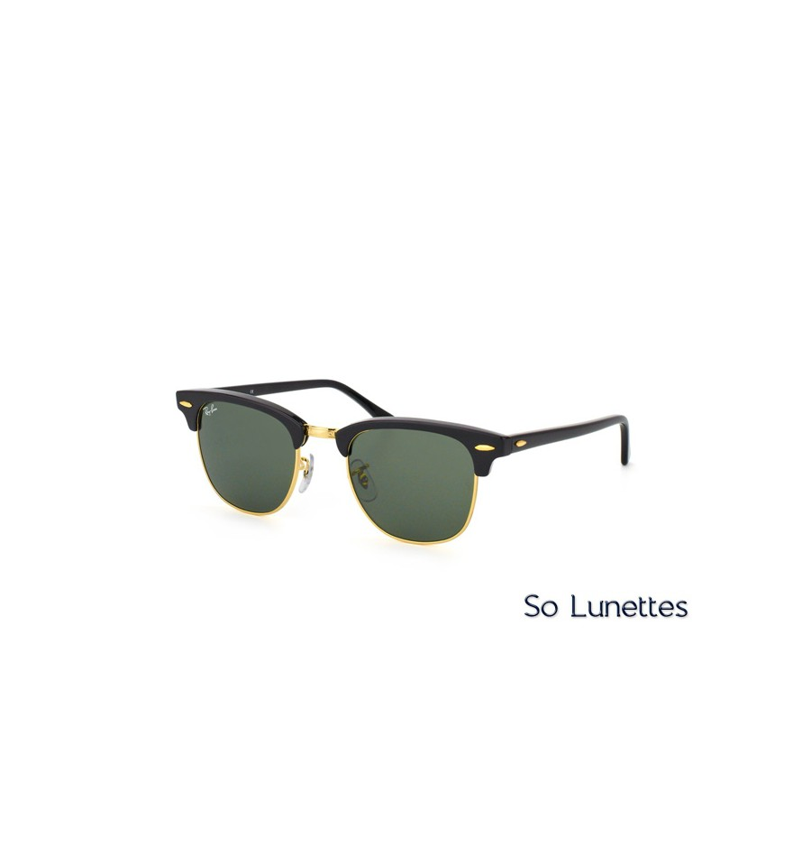 Ray-Ban Clubmaster RB3016 W0365 - So-Lunettes 7ed0a9d78537