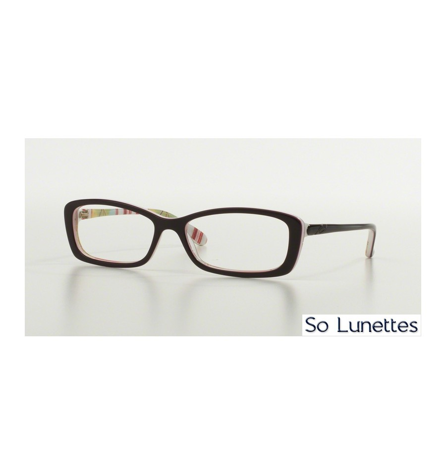 lunettes de vue oakley femme cross court ox1071 107102 monture rouge. Black Bedroom Furniture Sets. Home Design Ideas