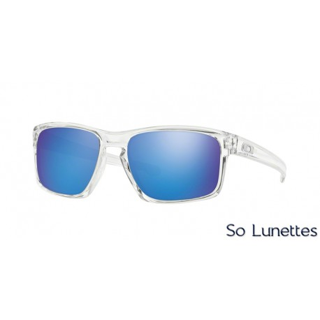 ea5c0a9d3af84 Lunettes de soleil Oakley Homme SLIVER OO9262 926206 Transparente