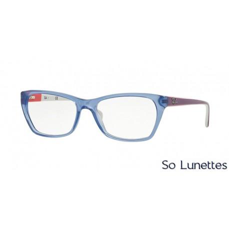 Lunettes de vue Ray-Ban Femme RX5298 5551 monture bleu clair 8c2f9e10dcff