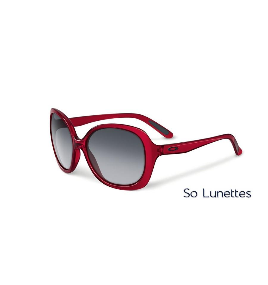 a46734a389 Lunettes de soleil Oakley Femme BACKHAND OO9178 917802 monture Rouge ...