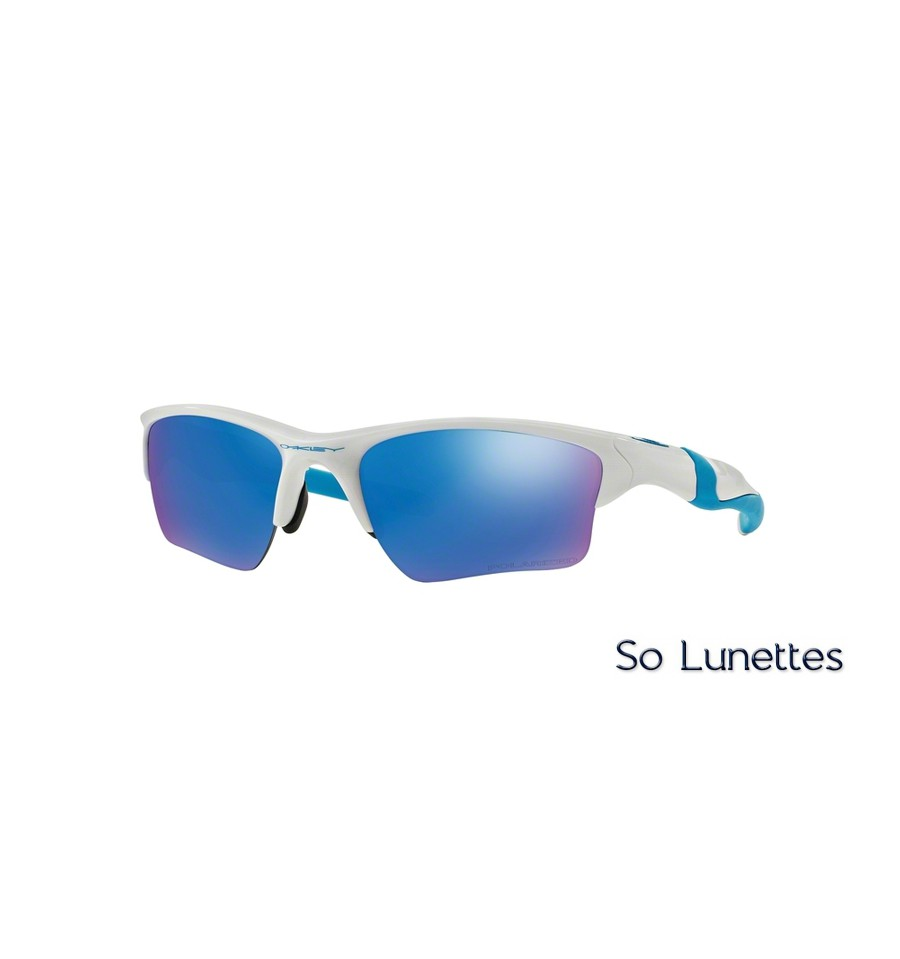 Lunettes de soleil Oakley Homme HALF JACKET 2.0 XL OO9154 915454 Blanche 62b24129c0d3
