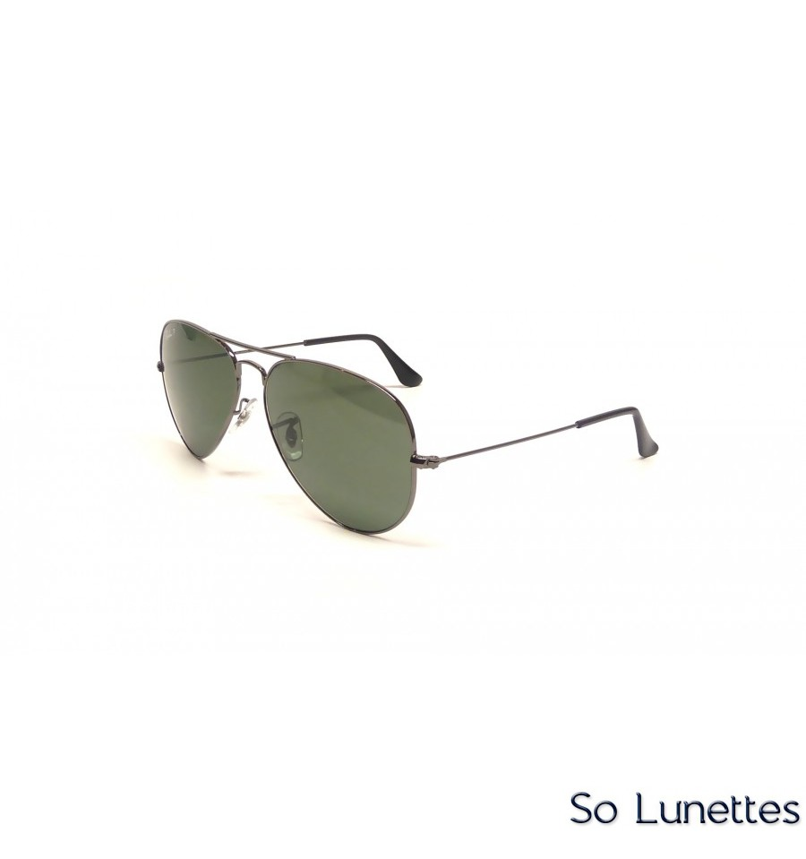 7c206f90d5bc0 Ray-Ban RB3025 004 58 (Aviator Large Métal) - So-Lunettes