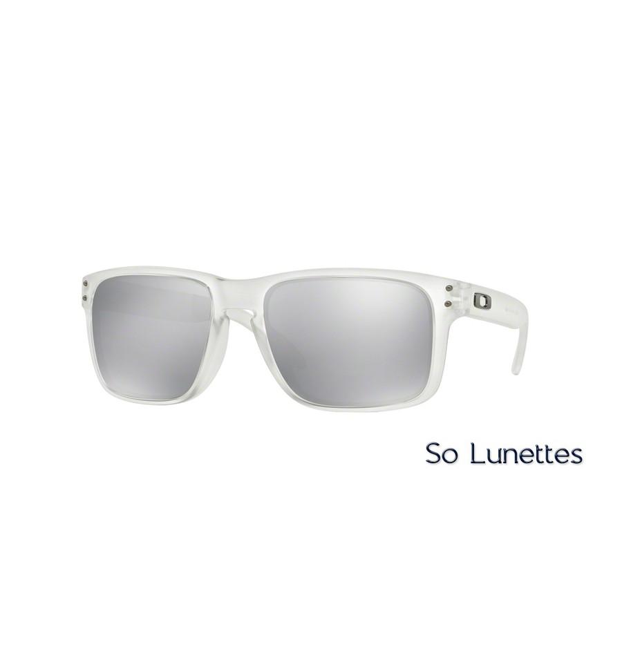 2f5fc8d4b81cfe Lunettes de soleil Oakley Homme HOLBROOK OO9102 9102A2 monture ...
