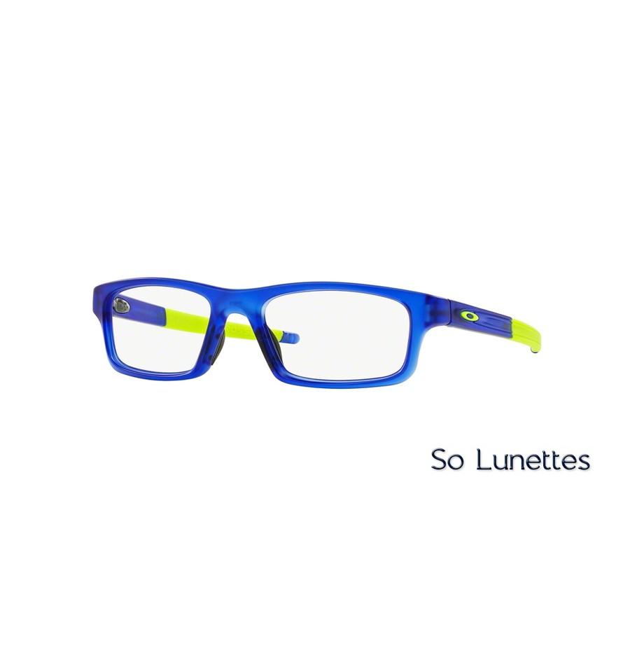 8417991fcb1ef Lunettes de vue Oakley Homme CROSSLINK PITCH OX8037 803704 Bleue monture  oakley femme