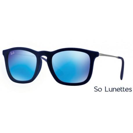 lunette de soleil ray ban homme verre bleu