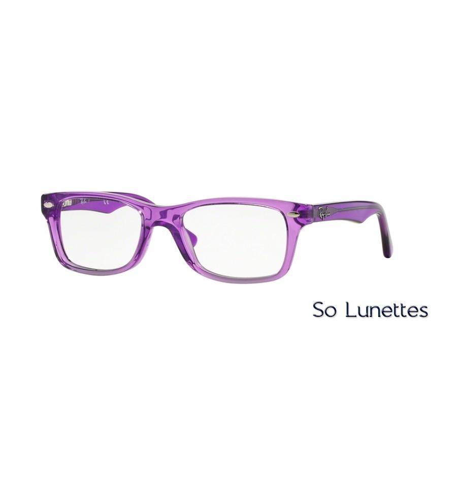 efb34d802fb5f5 Lunettes de vue Ray-Ban RY1531 3646 monture Violette