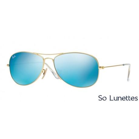 Or Monture Lunettes Bleu Soleil Homme Cockpit Rb3362 De 11217 Verres Miroité Ray Ban v0NwOm8yn