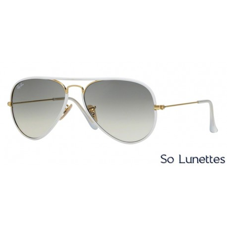 lunettes ray ban blanche