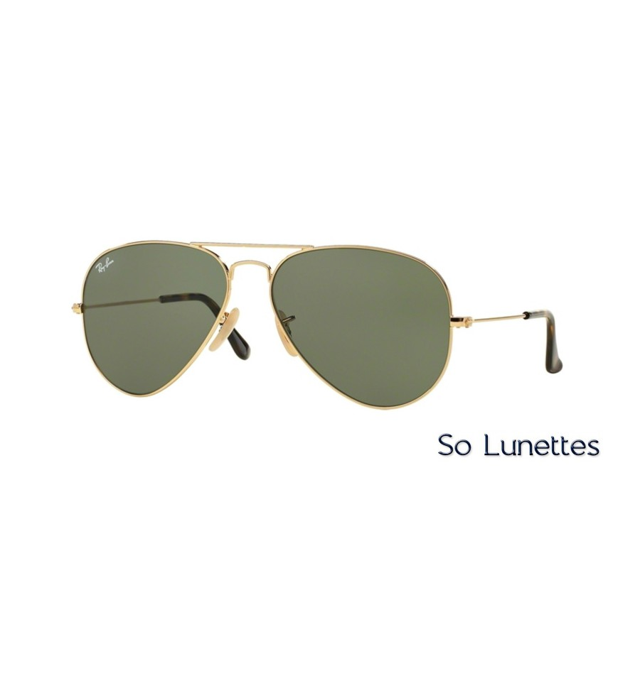 Lunettes de soleil Ray-Ban Homme AVIATOR LARGE METAL RB3025 181 ... 9f2c128685dd