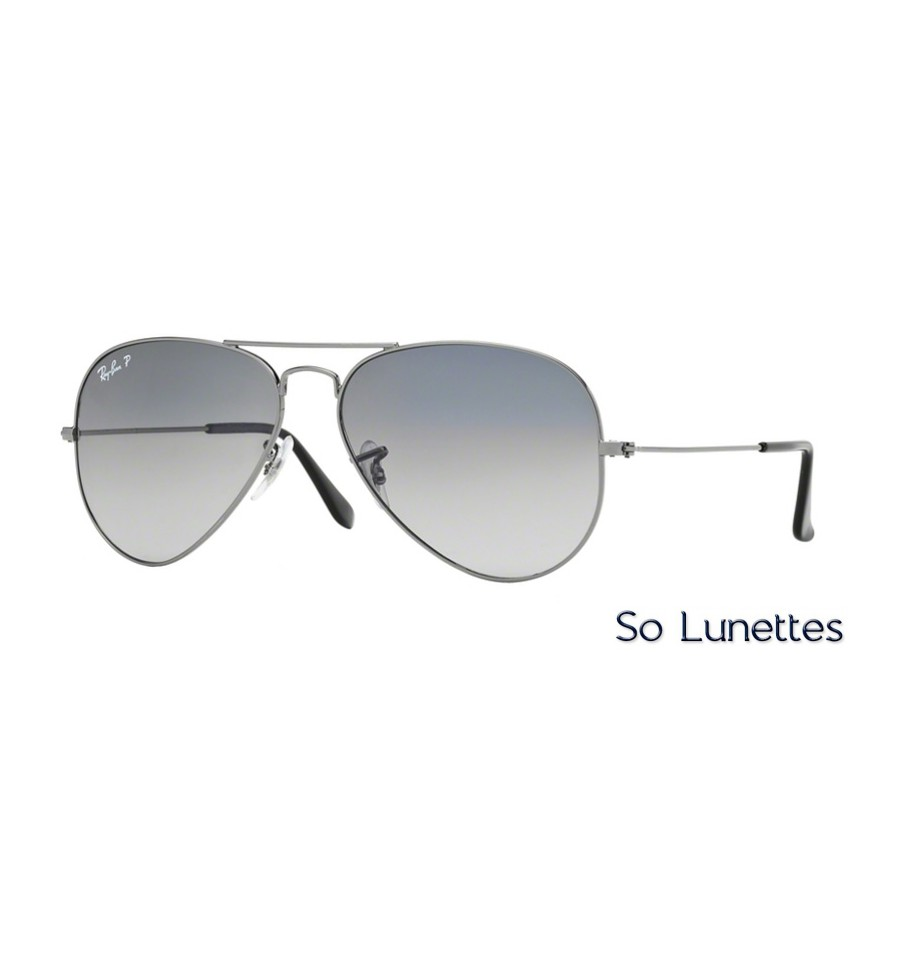 Rb3025 Ban Gunmetal Large Aviator Metal 00478 Ray Homme Y7bmIy6gvf