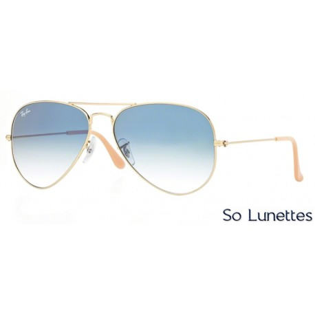 Lunettes de soleil Ray-Ban Homme AVIATOR LARGE METAL RB3025 001 3F ... a612e47024db