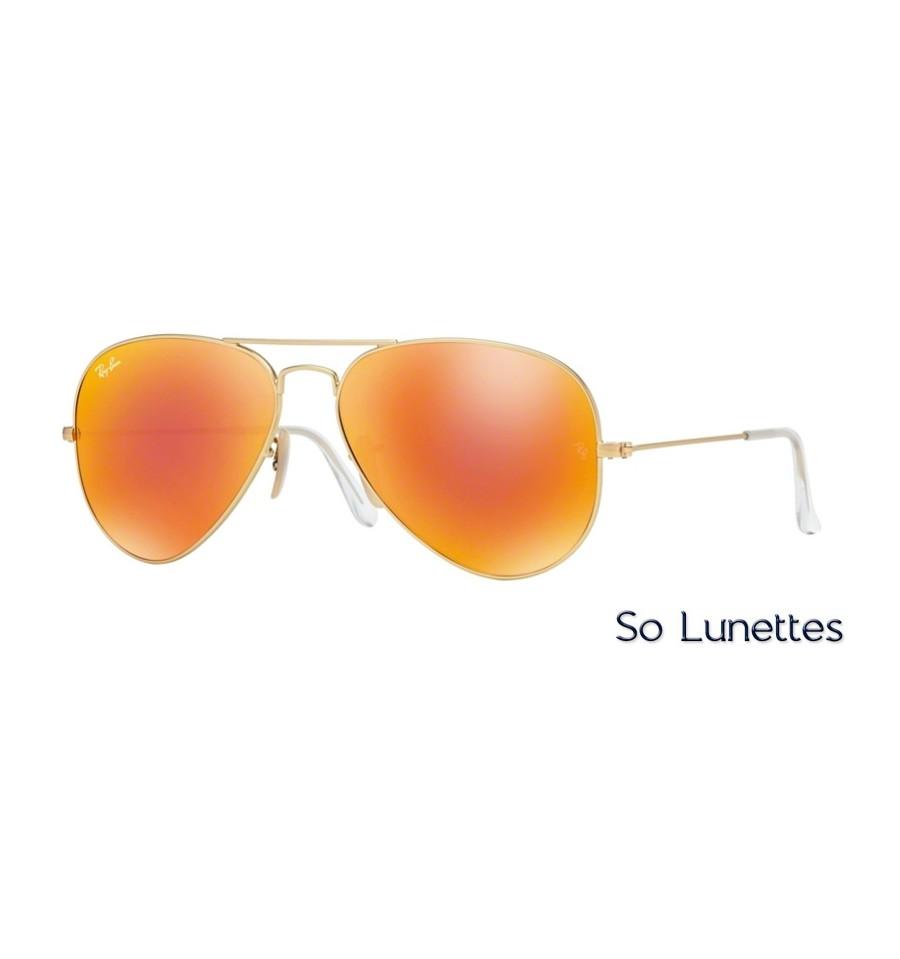 4bc4008d15e44 Lunettes de soleil Ray-Ban Homme AVIATOR LARGE METAL RB3025 112 69 ...