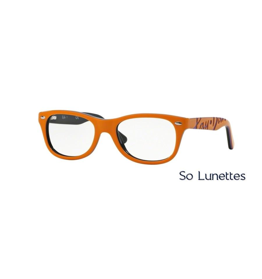 65759178c15 Lunettes de vue Ray-Ban RY1544 3629 monture Orange