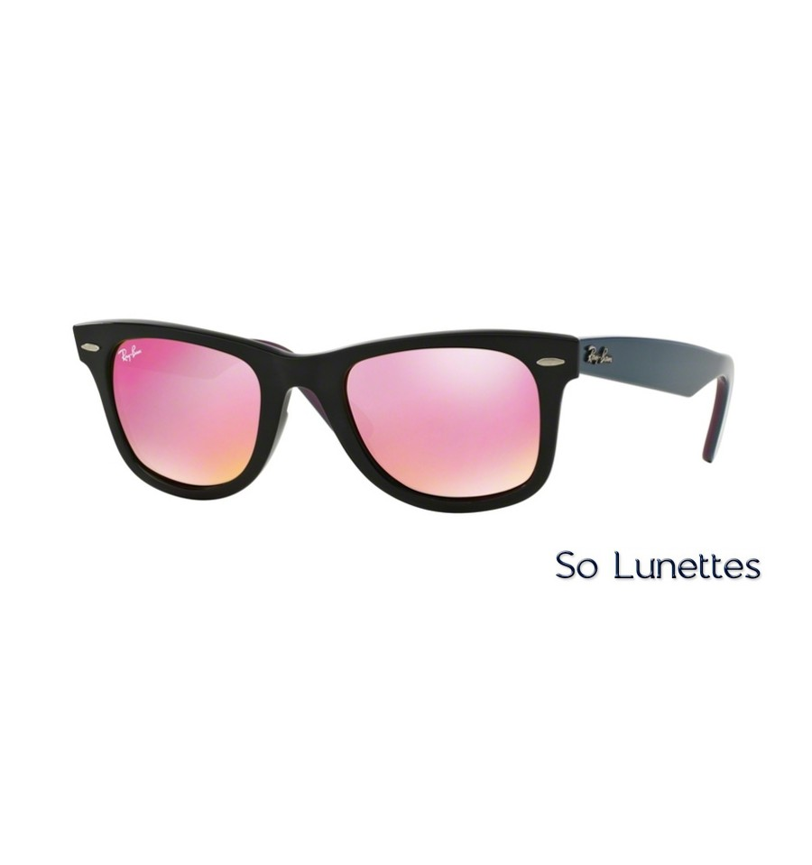lunette ray ban femme verre rose